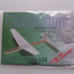 White Wings Excellent Gliders Racer White Lark Dr.Yasuaki Ninomiya @sold@